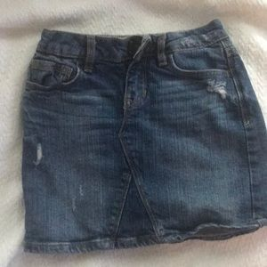 Girls Gap Denim Skirt size 6